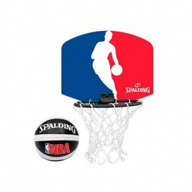 MINI CANASTA BASKET SPALDING NBA LOGO