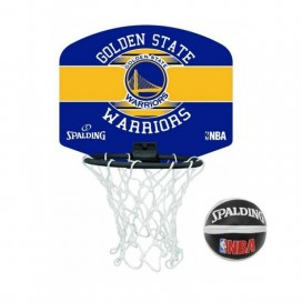 MINI CANASTA BASKET SPALDING GOLDEN STATE