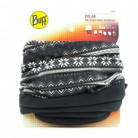 BRAGA POLAR BUFF SNOWFLAKES/BLACK