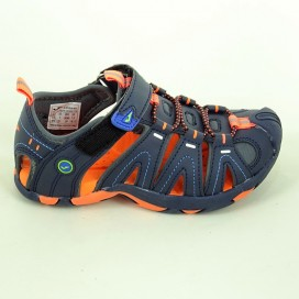 SANDALIA JOMA S.SEVEN JR 803 NAVY-ORANGE