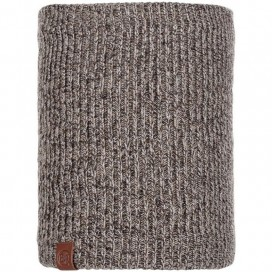 BRAGA BUFF KNITTED & POLAR NECKWARMER LYNE TAUPE BROWN