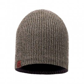 GORRO BUFF KNITTED & POLAR HAT LYNE BROWNTAUPE