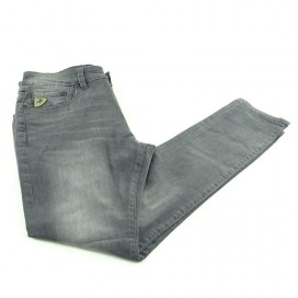 PANTALON LOIS DENIM BLACK C/ROTO