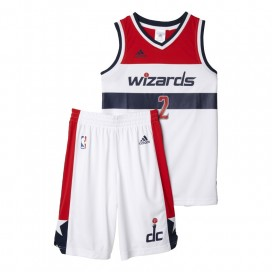 KIT ADIDAS BALONCESTO WIZARDS